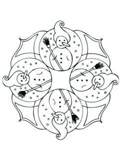 malvorlagen winter zum ausdrucken (mit bildern)   mandala