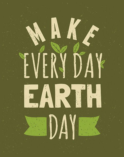 Tumblr Typography Lettering Earth Day Posters Earth Day
