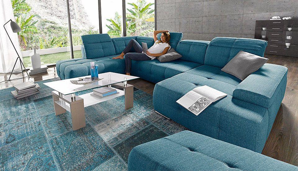 sitmore Wohnlandschaft, wahlweise mit Bettfunktion Jetzt bestellen - gemütliches sofa wohnzimmer