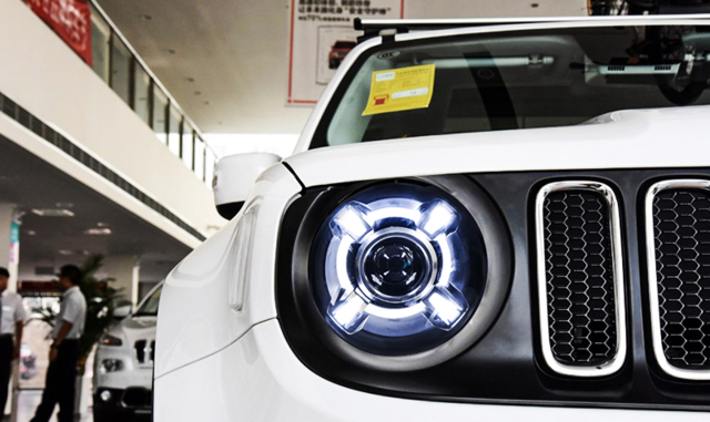 Source 2015 2017 Jeep Renegade Hid Led Headlight With Drl And Bi