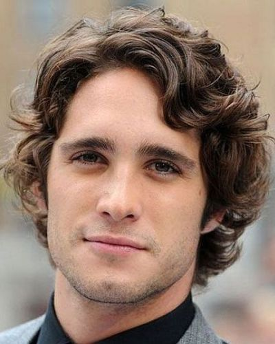 30 Winter Hairstyles for Men that Are Easy to Maintain | MenHairstylist.com | Curly hair styles ...