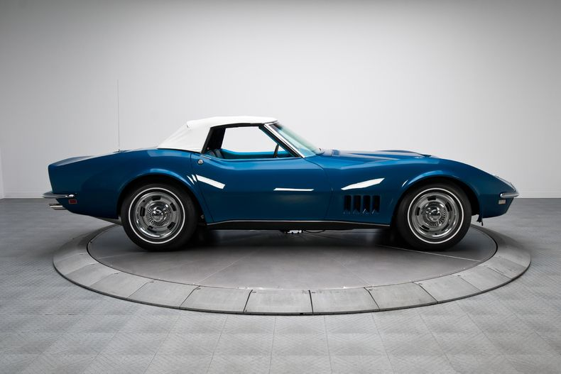 1968 International Blue Chevrolet Corvette Sting Ray 427 V8