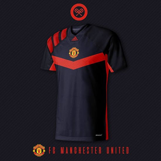 Stunning Manchester United 18-19 Home f6b45cd7b