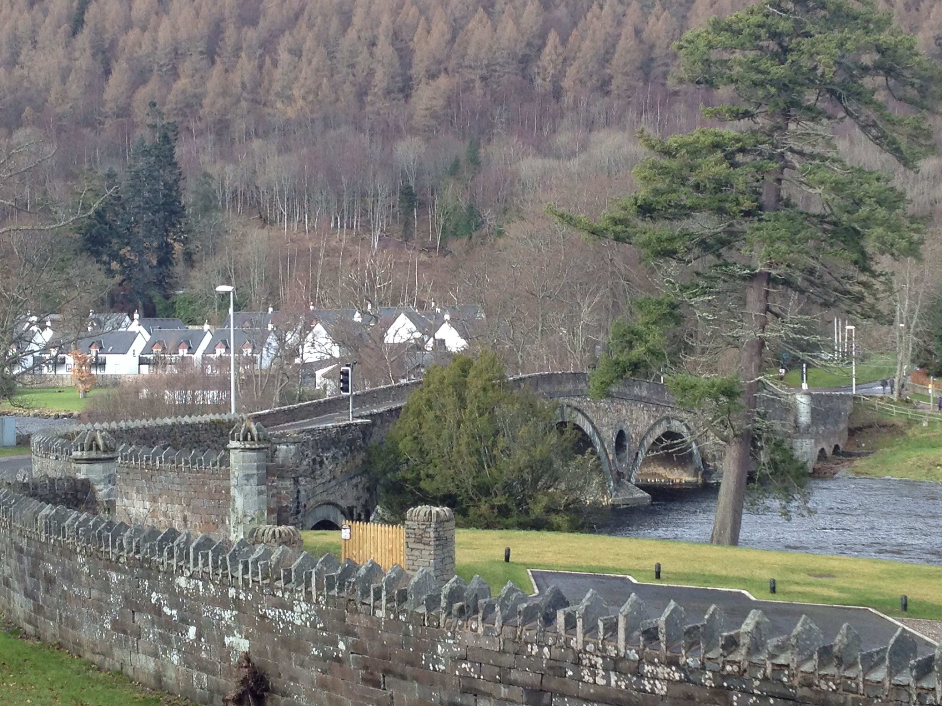 Kenmore, Perthshire. Happy times with family and friends.