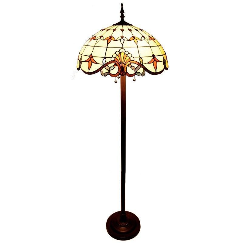 Allistar stained glass floor lamp products pinterest stained allistar stained glass floor lamp aloadofball Images