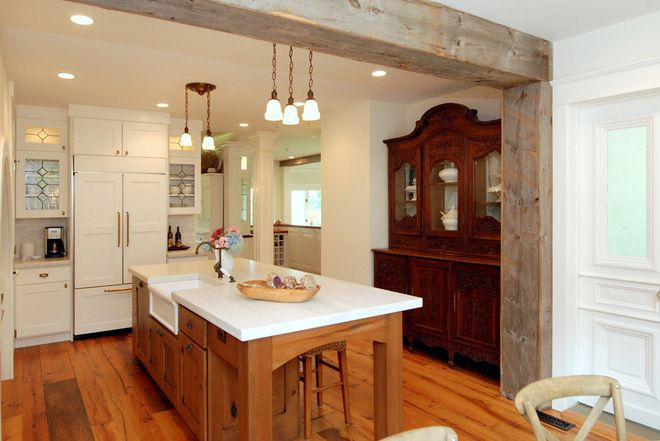 Rustic Kitchen By Ami Designs Load Bearing Wall Removal