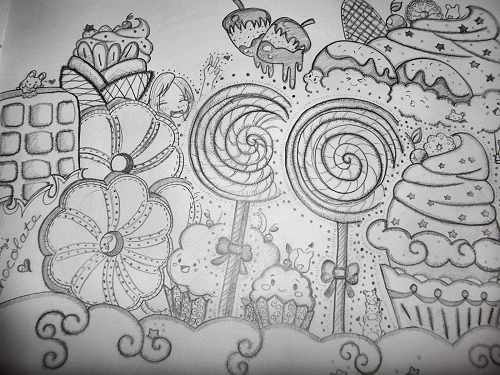 custom candyland coloring pages - photo#18