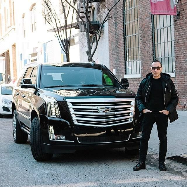 Pin On J Mendel Arriving To His Nyfw Show Photo From Cadillac