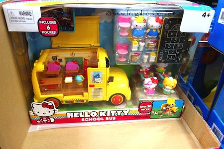 Hello kitty school bus playset costco frugalhotspot toys toys kids pinterest - Costco toys for kids ...