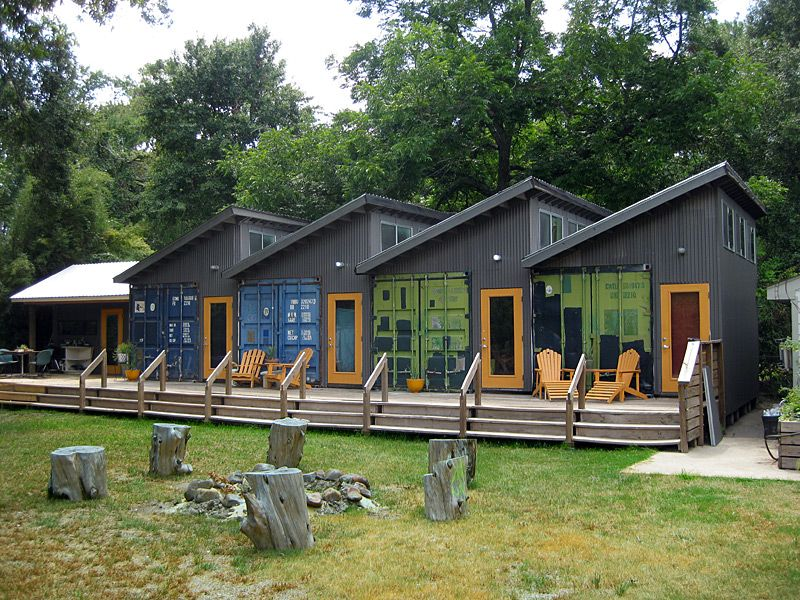 Homes Made From Containers art studios built with shipping containers | might have to kill a