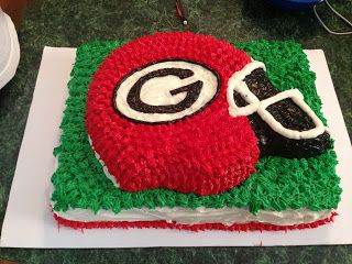 Katie decorated this cake for her nephews birthday party. SO cute!