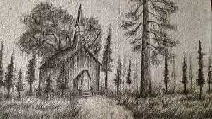 Resultado De Imagen Para Dibujos A Lapiz De Paisajes Painting Art Moose Art
