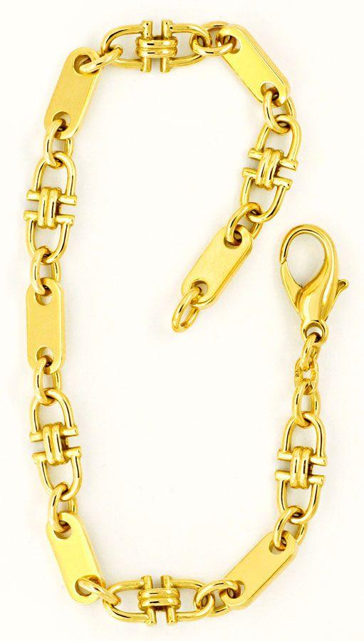 steigb gel pl ttchen anker goldkette armband massiv 14k. Black Bedroom Furniture Sets. Home Design Ideas