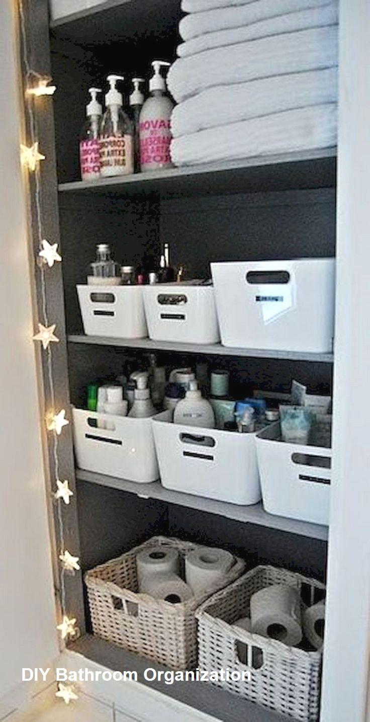 8 Ways to Organize Your Bathroom! 8  Kleine badaufbewahrung