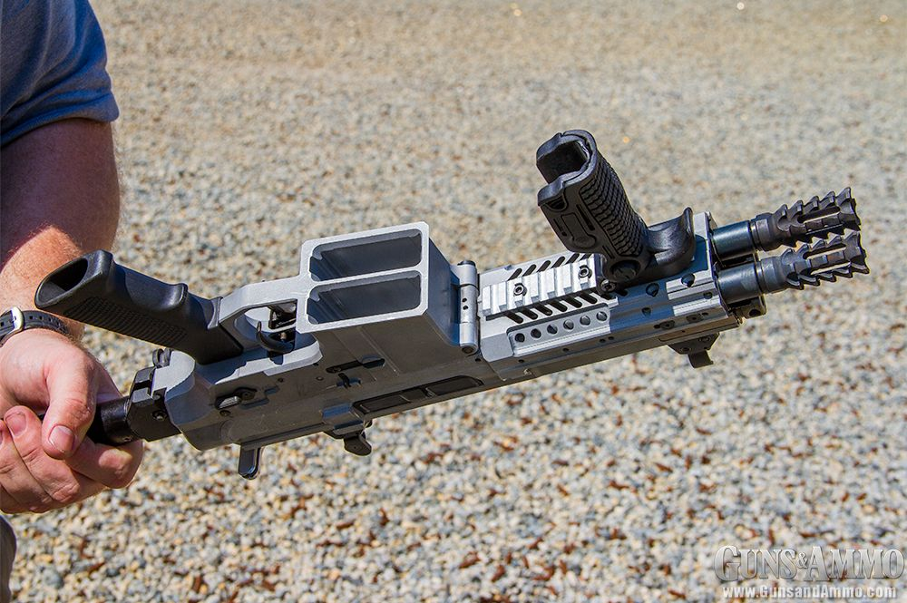 First Look: Gilboa Snake Double Barrel AR-15 | Guns & Ammo #gunsammo