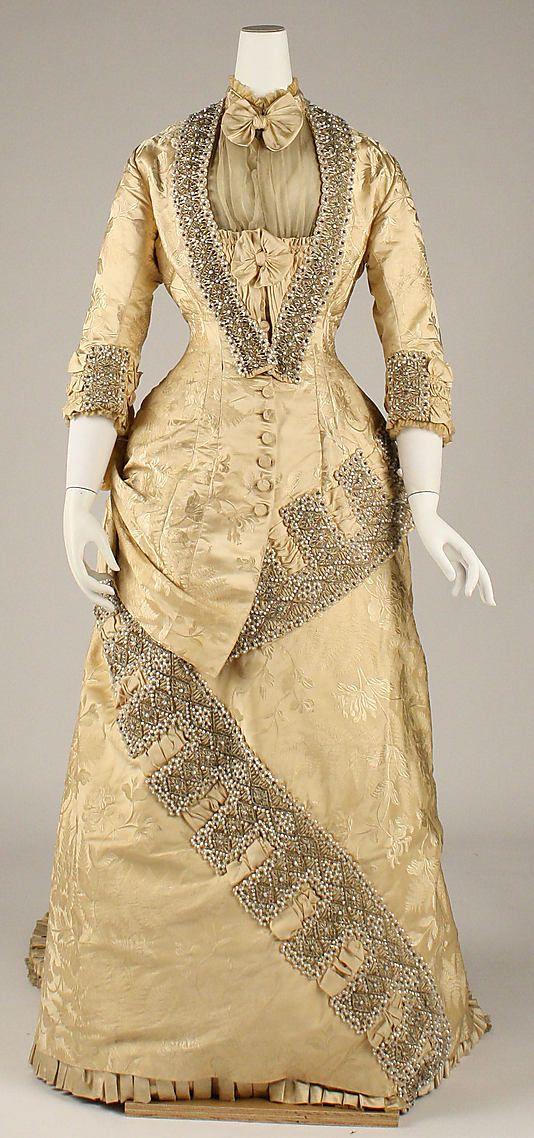 Circa 1879 dress. Label: \