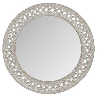 Safavieh Braided Chain Decorative Wall Mirror Grey