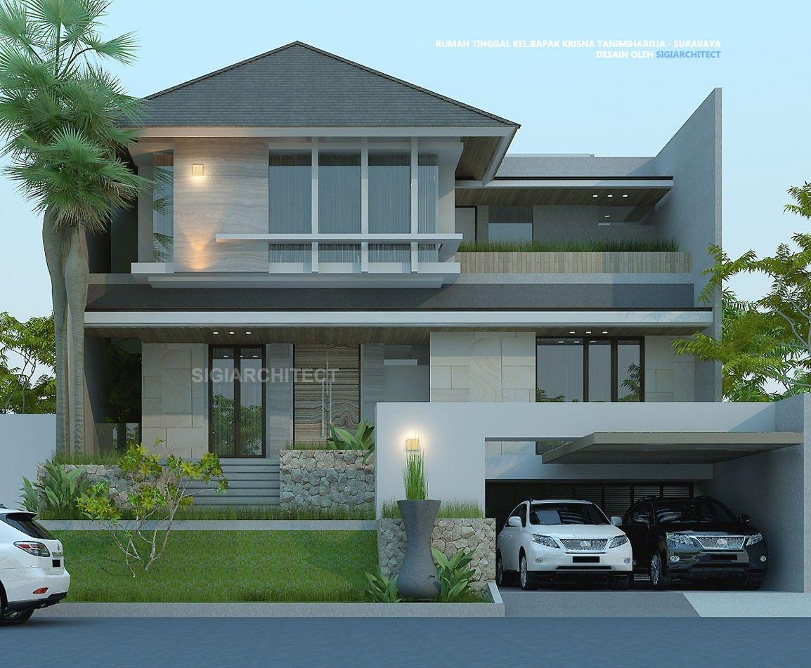 Desain Rumah 2 Lantai Minimalis Tropis Modern Desain Rumah 2 Lantai Arsitektur Modern Desain Arsitektur