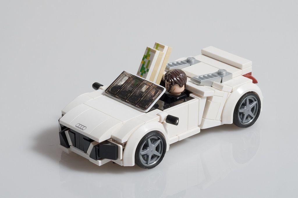 Tony Starks Audi R8 Spyder From Iron Man 2 Lego Cars
