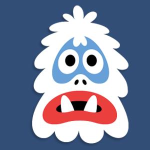 Printable Abominable Snowman Mask Abominable Snowman Printable Snowman Yeti Snowman