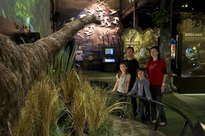 Zealandia - Life size Moa at Zealandia exhibition