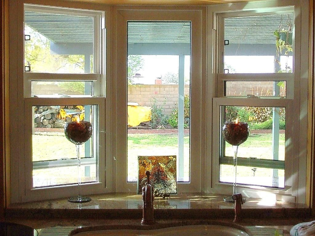 Bay Window Design Creativity Bay Window Over Kitchen Sink