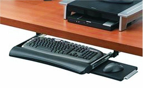 Fellowes Office Suites Underdesk Keyboard Drawer Black Silver Purchase 1 Will Defer To Jon If He Has Other Pr Office Suite Fellowes Desk With Keyboard Tray