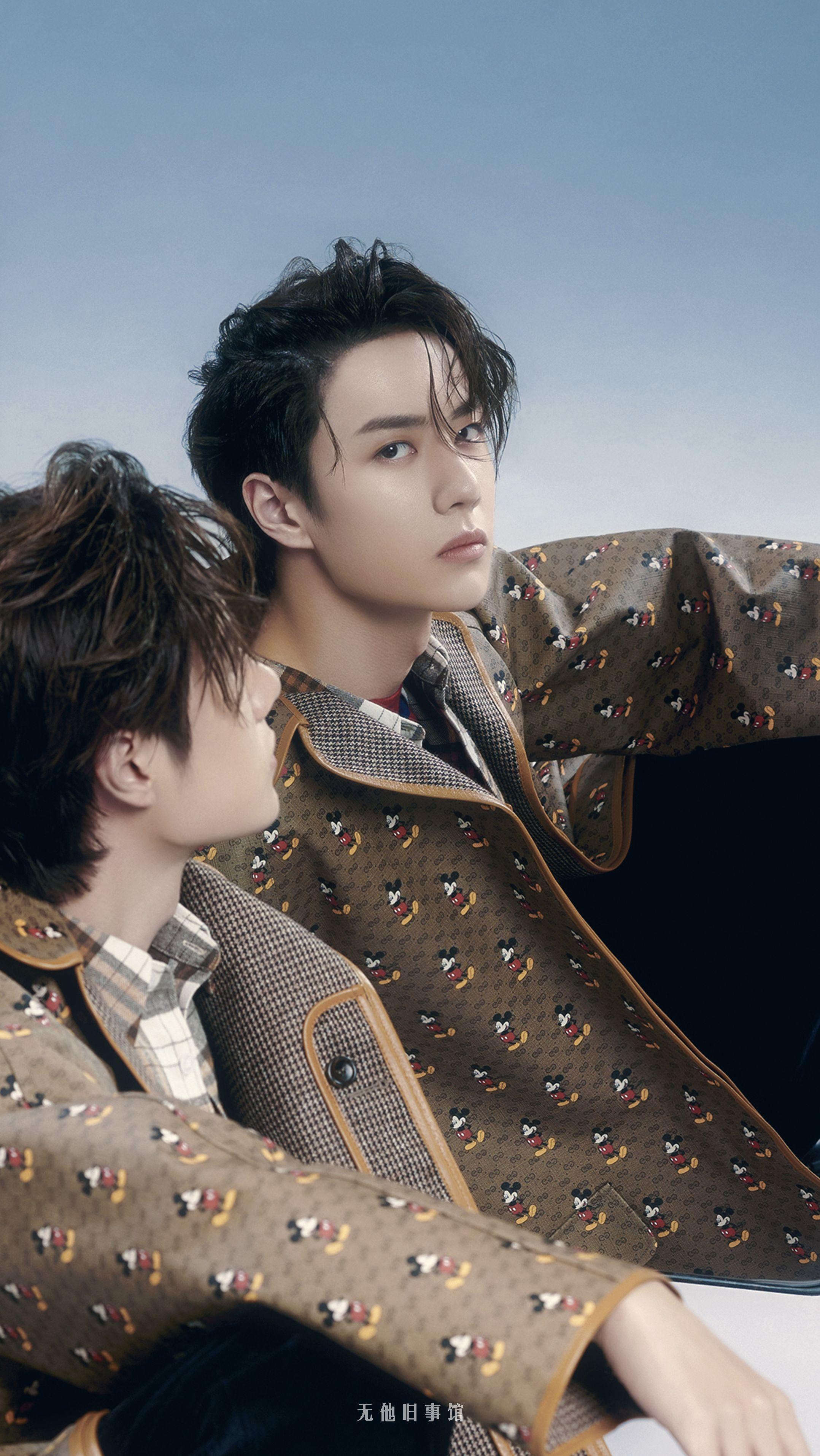 Wang Yibo🦁💕 in 2020 Model poses, Hair images, Woo young