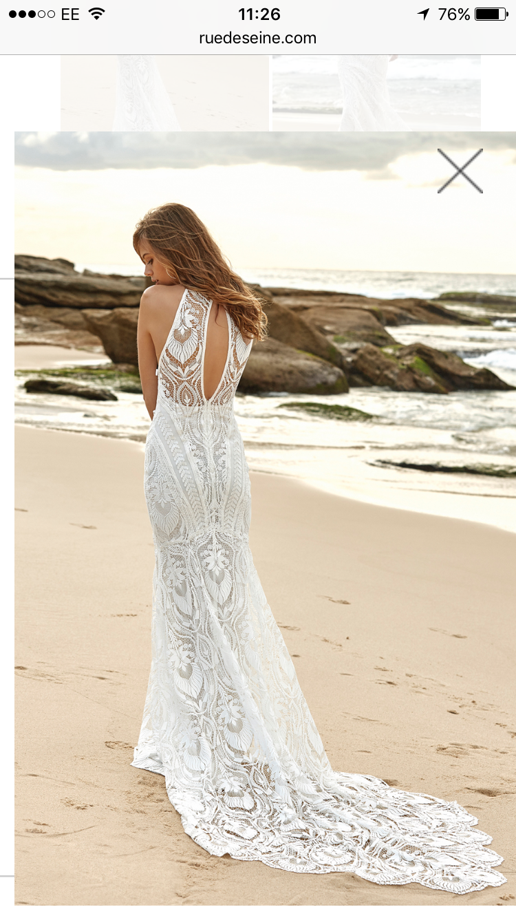 Designer beach wedding dresses  Star Gazer Rue De Seine  L u D  Wedding Dresses  Pinterest