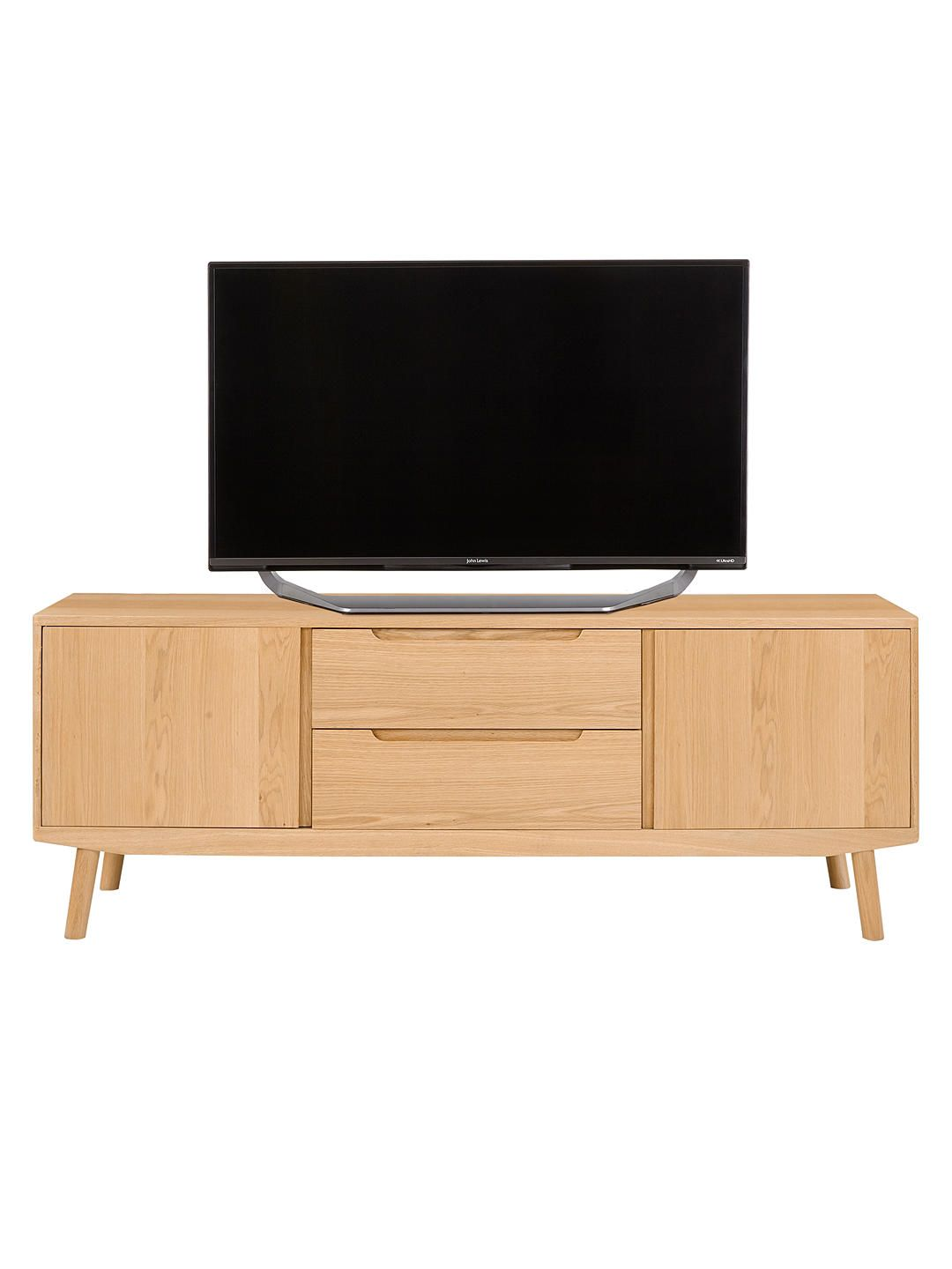 low priced 2150d b45eb House by John Lewis Bow TV Stand Sideboard for TVs up to 70 ...