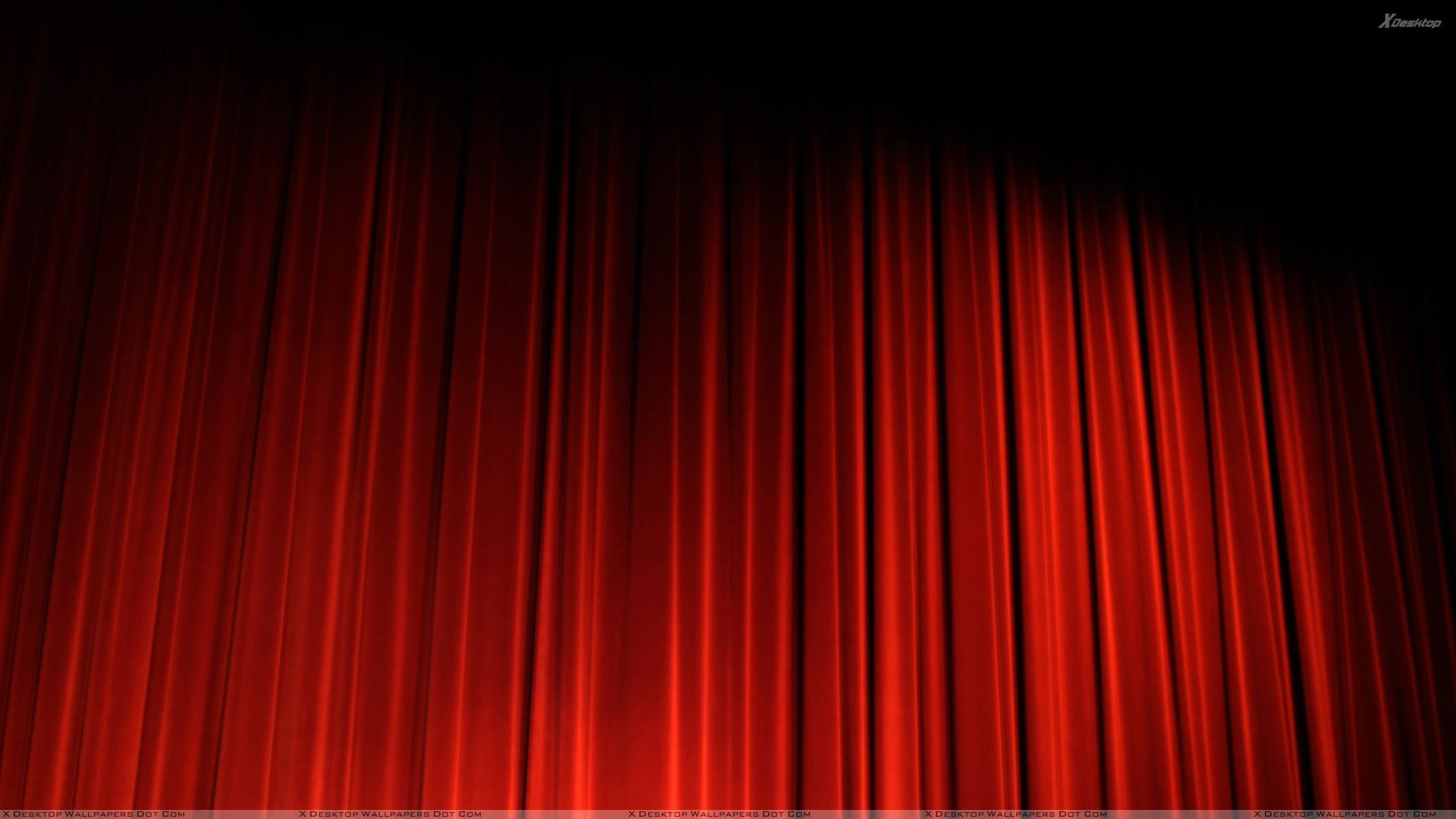 Red Curtain In Cinema Red Curtains Curtains How To Make Curtains