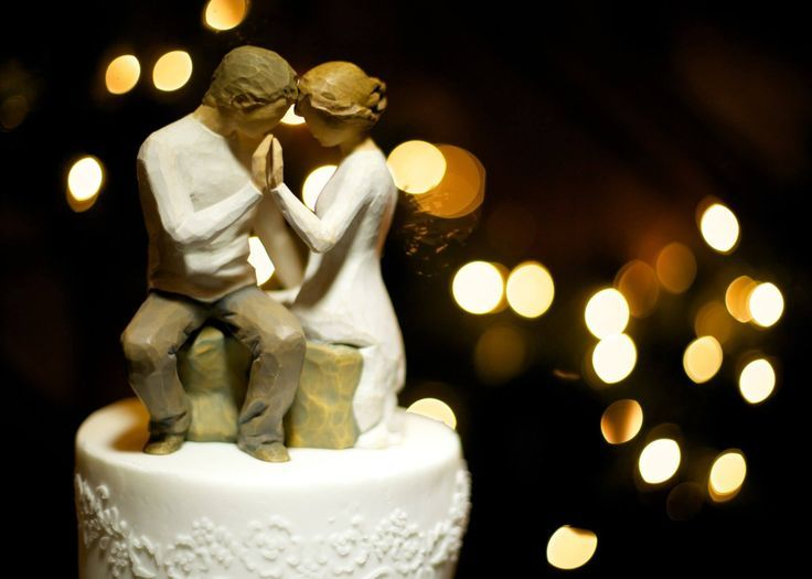 Cake Willow Tree Topper