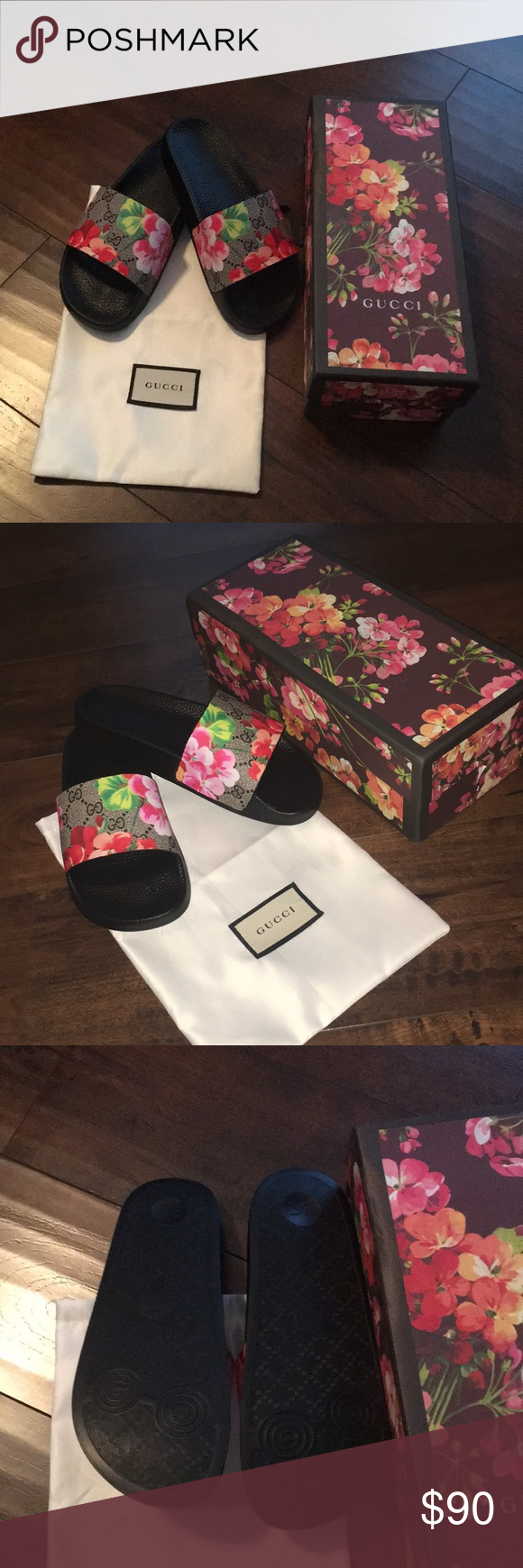 7ace0a5139f NEW IN BOX Blooms Supreme slide sandal Style 408508 KU200 8919. Not branded.