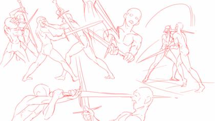 вам сложно позы сражения на мечах картинки некоторых коллег