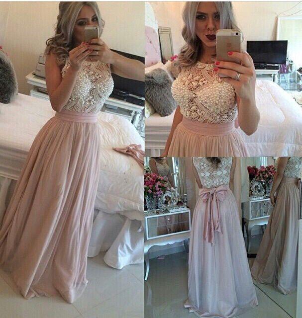 7afceed277c3 vestidos ala moda largos 2016 - Buscar con Google | 15's | Vestidos ...