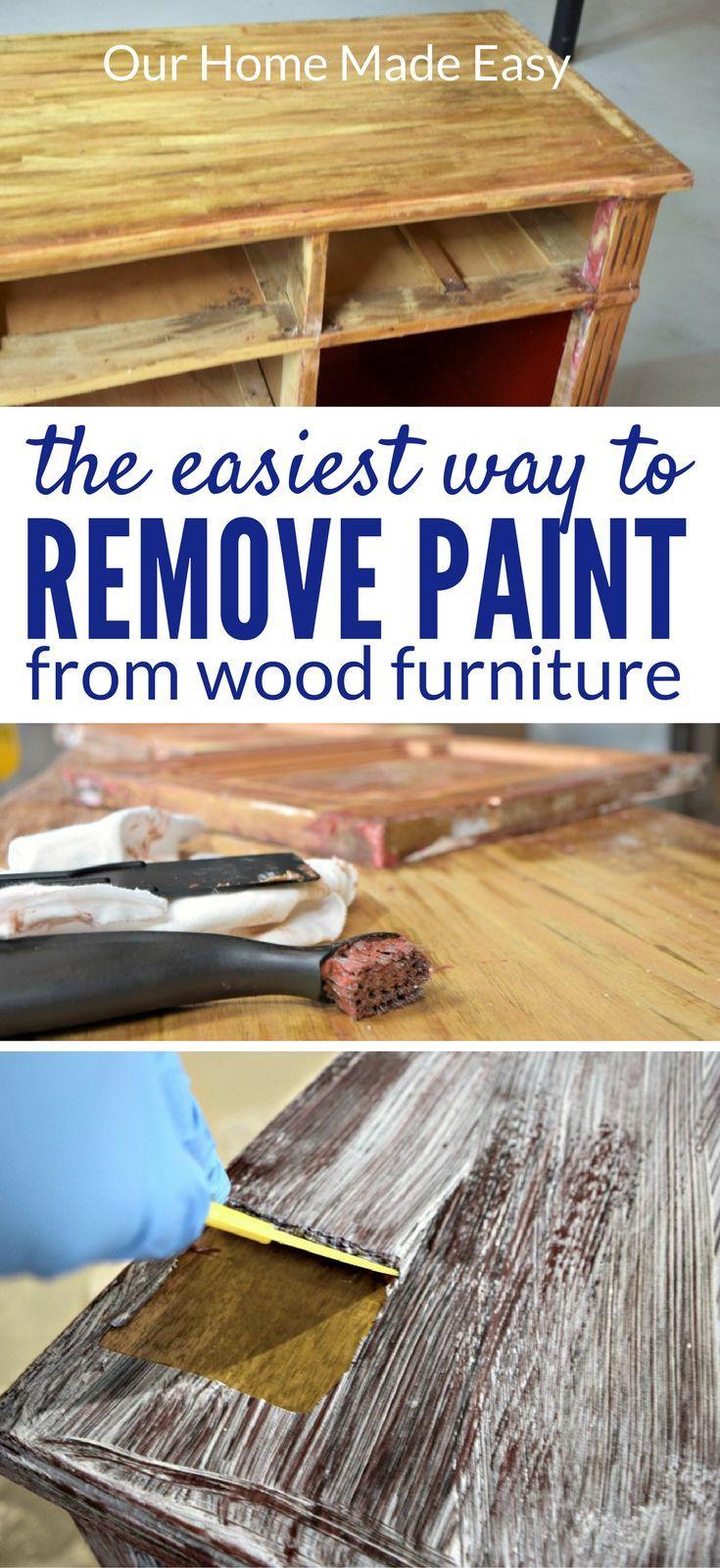 How To Easily Remove Paint U0026 Varnish From Old Furniture!   Remove Paint, Wood  Furniture And Woods