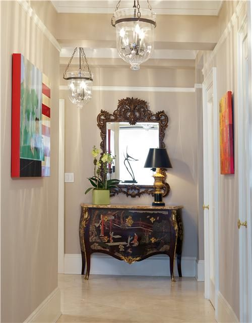 Traditional Foyer Pictures : Classic traditional foyer by guillaume gentet on