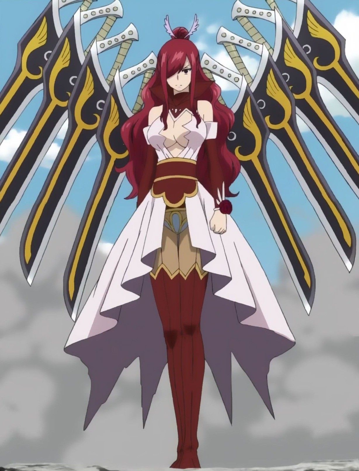 Fairy Tail Fairy Tail Anime Fairy Tail Erza Scarlet Fairy Tail Girls