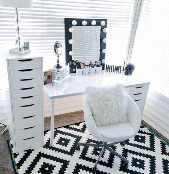 Make a dressing table - ideas and advice - Teen Bedroom - #TeenBedroom - #advice #bedroom #dressing #ideas #table