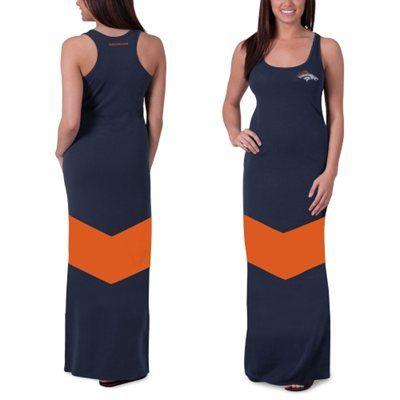 half off 60d08 bdff1 Denver Bronco maxi dress   Love those Denver Broncos ...