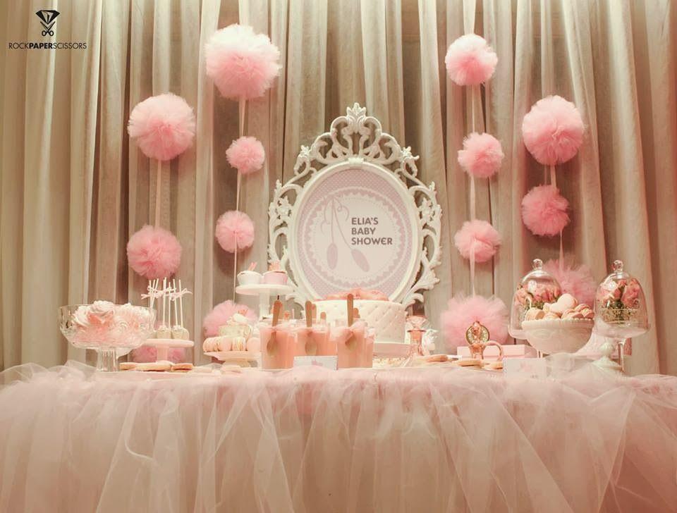 Ballerina Baby Shower Decorations La Baby Shower