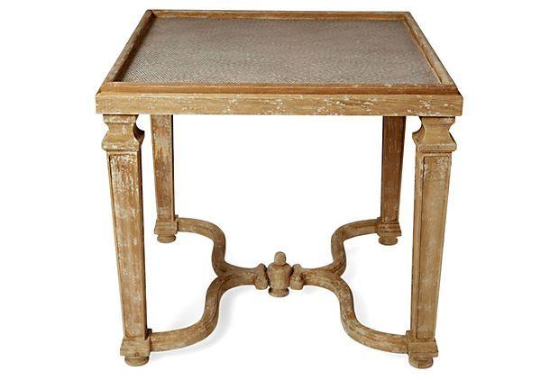 Emerson Table, Natural on OneKingsLane Furniture Pinterest