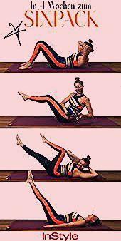 Sixpack: Diese 4 Fitnessübungen machen es möglich! #sport #fitness #wellness #... - #diese #es #Fitn...