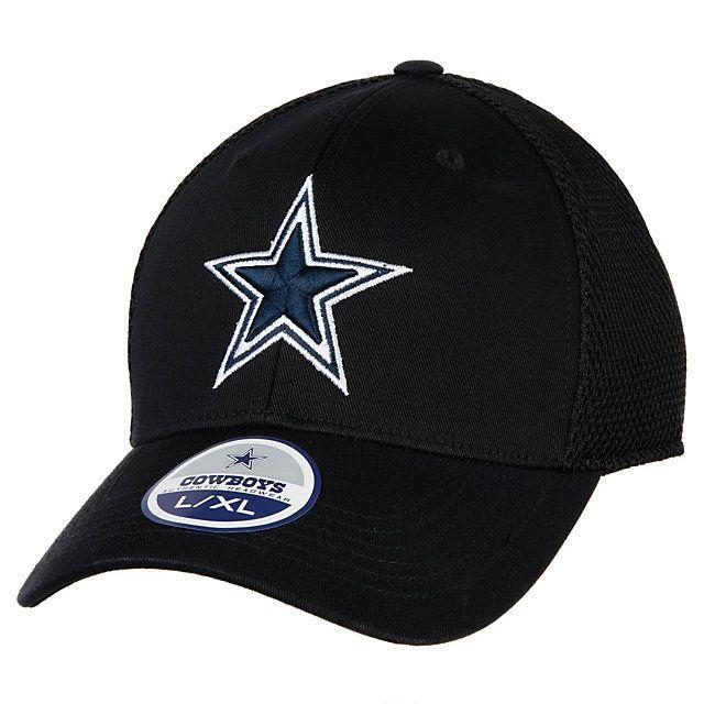 09fc4e1bd0c NFL Dallas Cowboys Team Logo Size Hat Peaked Cap Baseball Hats Size S-M and  L-XL