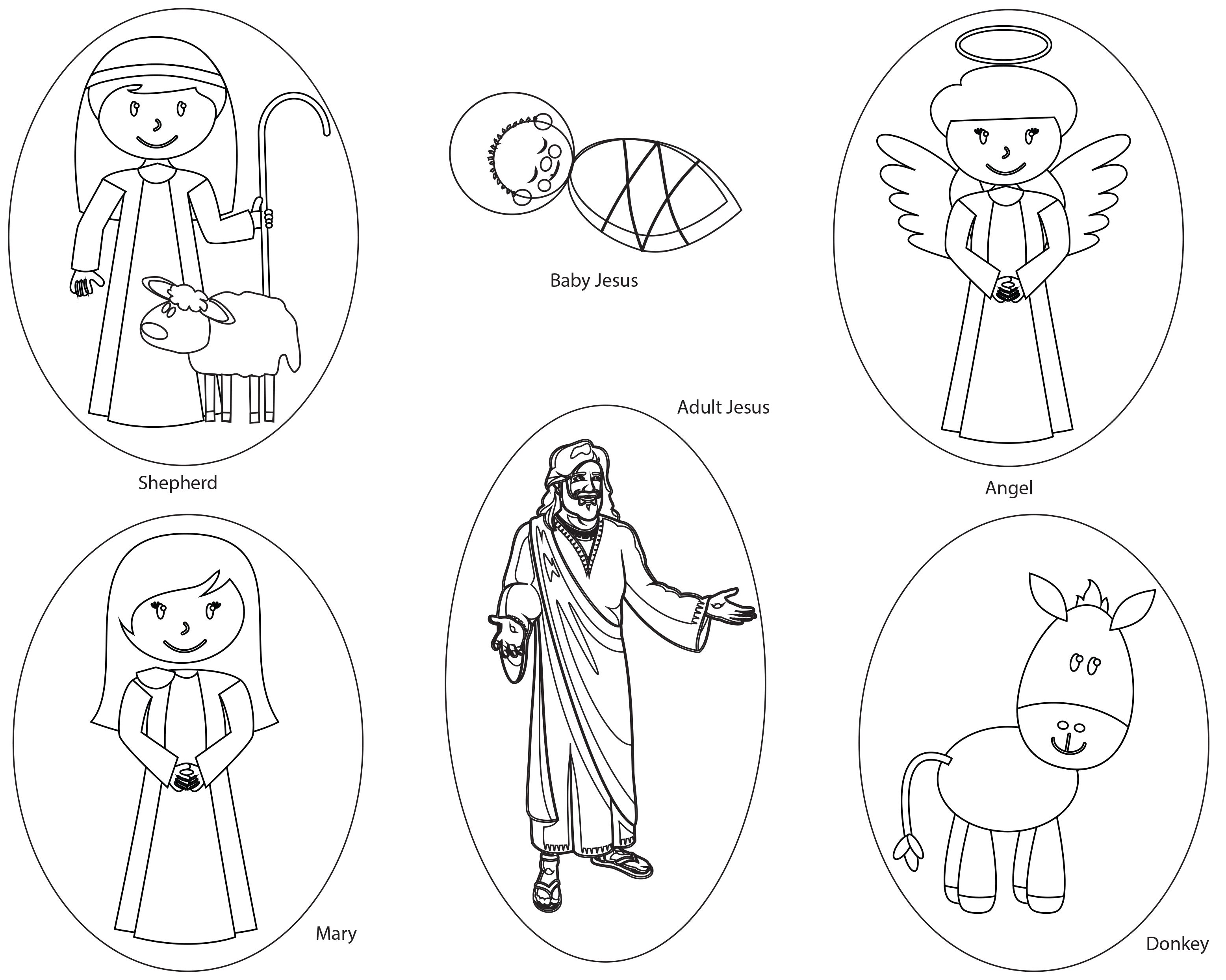 Printable puppets for preschoolers to use for Kiddie Tales
