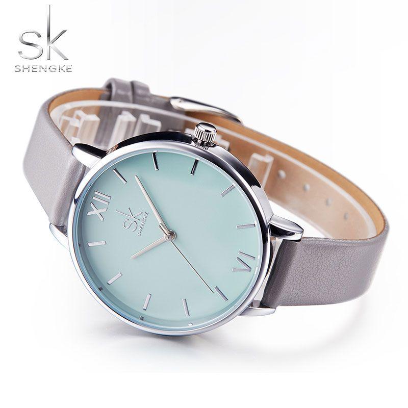 Comprar Sk 2018 moda señoras reloj de cuarzo mujeres relojes de lujo marca  famosa muñeca relojes 034fba04d6fa