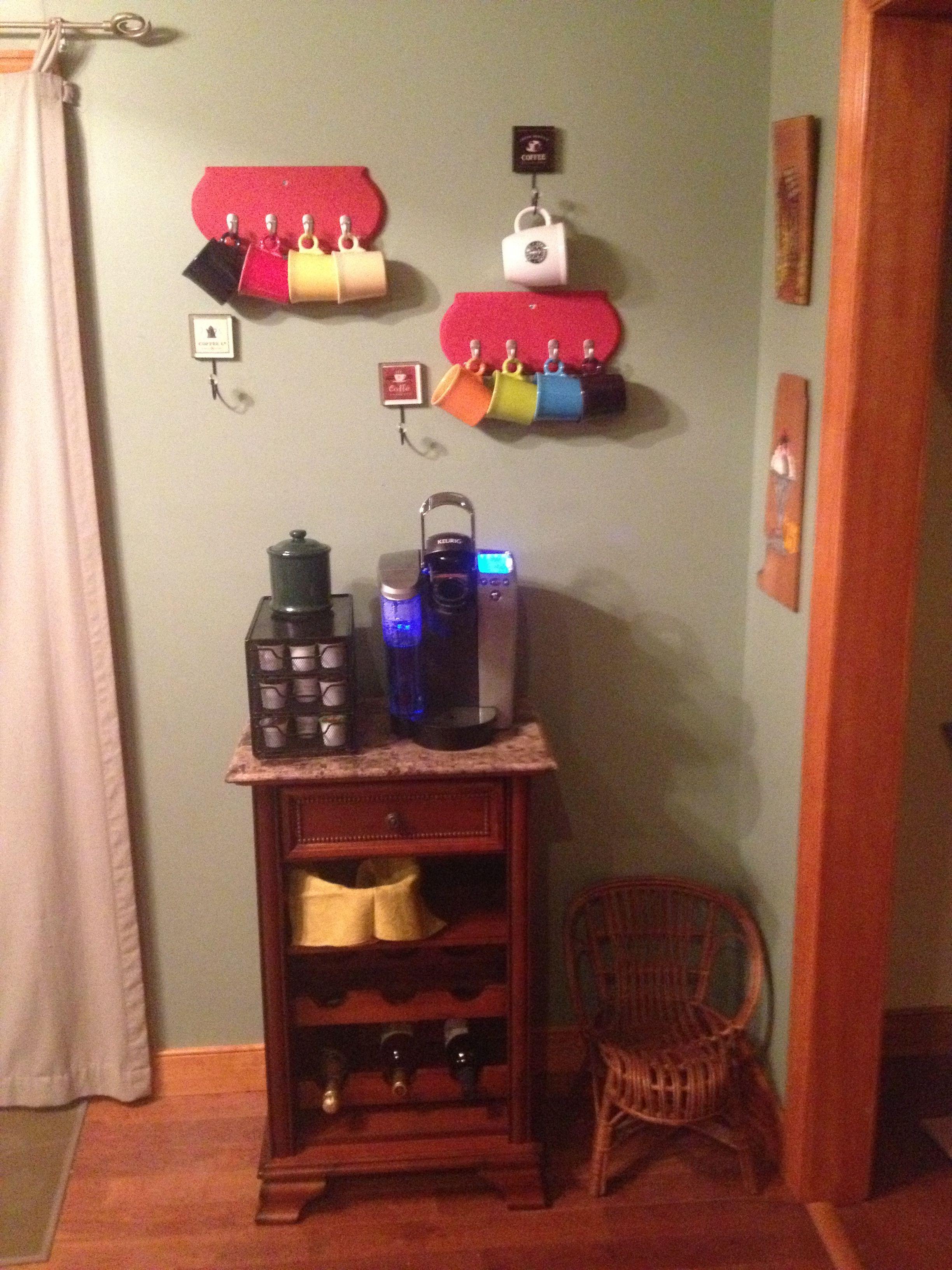 Hutch Decorating Ideas Coffee Stations