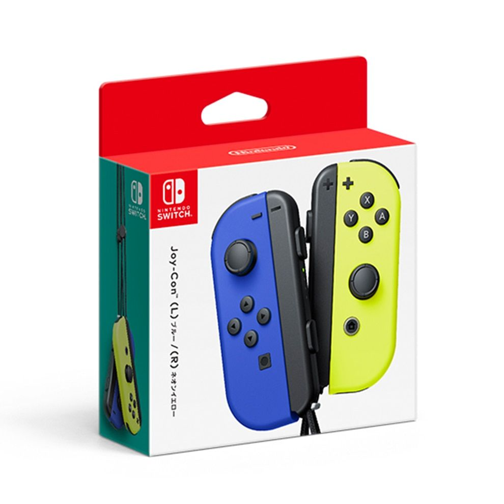 Joy Con L R Blue Neon Yellow Oem Nintendo Switch Accessories Nintendo Switch Switch