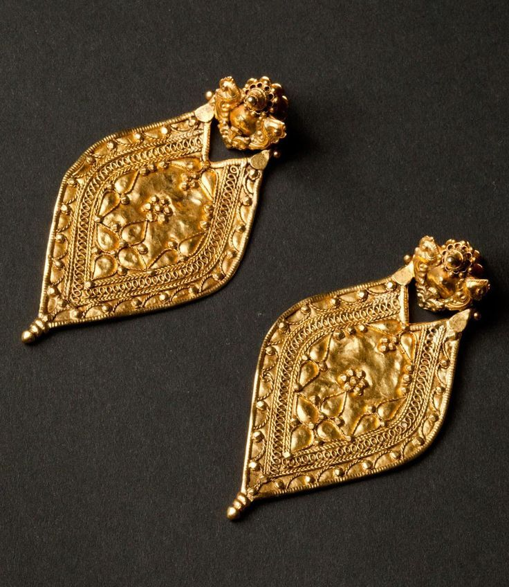 North India 22k gold earrings 23grams