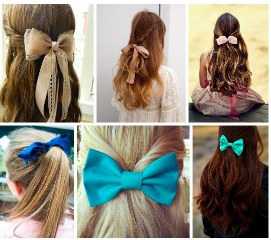 Cool Hairstyles Bow Hairstyle Hair Styles Hair Designs